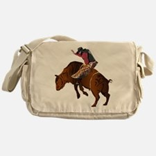 Cowboy - Bull Rider NO Text Messenger Bag