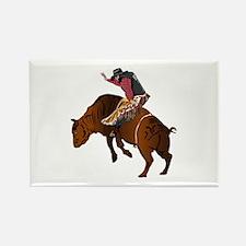 Cowboy - Bull Rider NO Text Rectangle Magnet