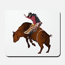 Cowboy - Bull Rider NO Text Mousepad