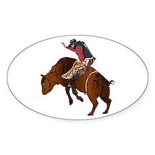 Cowboy - Bull Rider NO Text Decal