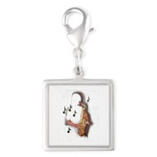 Musician abstract saxophone player Charms