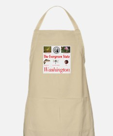 Evergreen State (red) BBQ Apron