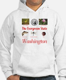Evergreen State (red) Hoodie
