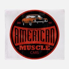 CHEVY MUSCLE Throw Blanket