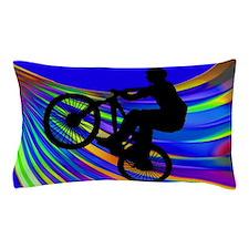 Funny Bike Pillow Case