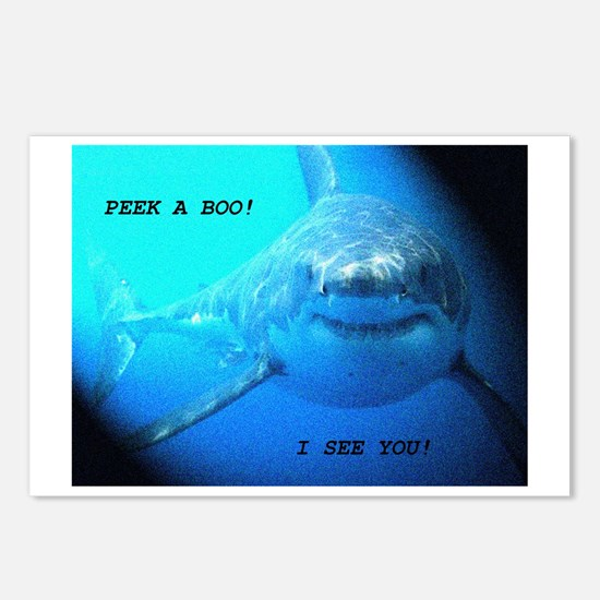 Peek a boo, I see you! Postcards (Package of 8)