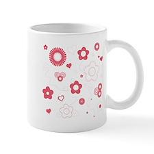 Transparent Rose Floral Small Mug