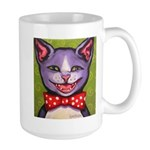 Merry Christmas Cat Large Mug