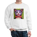 Merry Christmas Cat Sweatshirt