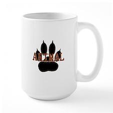 Animal Paw Print Mug