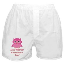 Cute Ows Boxer Shorts