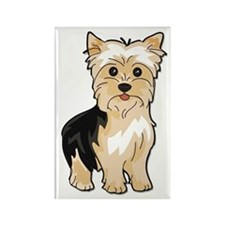 Yorkie Lover Rectangle Magnet