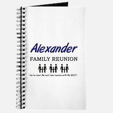 Alexander Family Reunion Journal