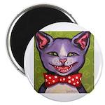Merry Christmas Cat Magnet