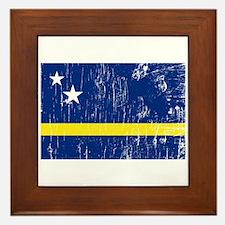 Vintage Curacao Framed Tile
