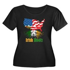 Irish Roots Plus Size T-Shirt