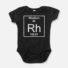 45. Rhodium Baby Bodysuit