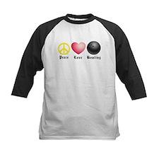 Peace, Love, Bowling Tee