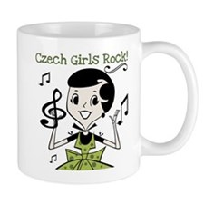 Czech Girls Rock Small Mug