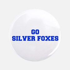 """Silver Foxes-Fre blue 3.5"""" Button"""