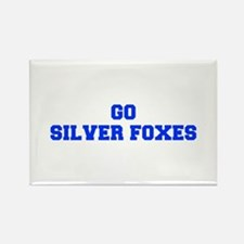 Silver Foxes-Fre blue Magnets