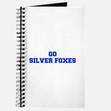 Silver Foxes-Fre blue Journal