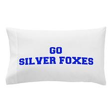 Silver Foxes-Fre blue Pillow Case