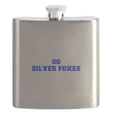 Silver Foxes-Fre blue Flask