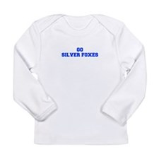 Silver Foxes-Fre blue Long Sleeve T-Shirt
