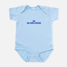 Silver Foxes-Fre blue Body Suit