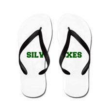Silver Foxes-Fre dgreen Flip Flops