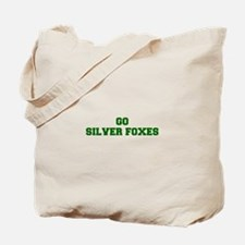 Silver Foxes-Fre dgreen Tote Bag