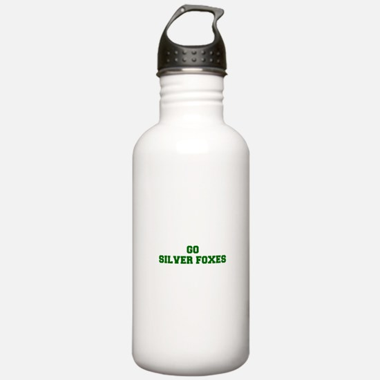 Silver Foxes-Fre dgreen Water Bottle