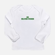 Silver Foxes-Fre dgreen Long Sleeve T-Shirt
