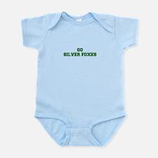 Silver Foxes-Fre dgreen Body Suit