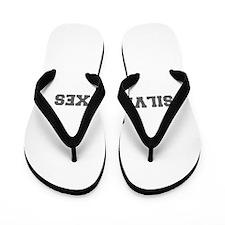 SILVER FOXES-Fre gray Flip Flops