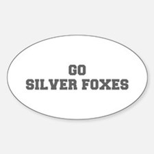 SILVER FOXES-Fre gray Decal