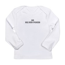 SILVER FOXES-Fre gray Long Sleeve T-Shirt