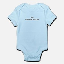 SILVER FOXES-Fre gray Body Suit