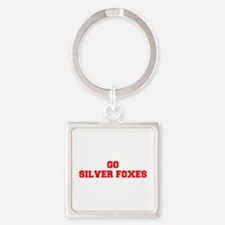 SILVER FOXES-Fre red Keychains