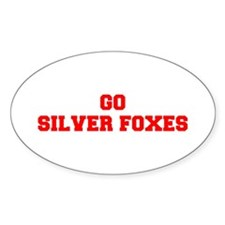 SILVER FOXES-Fre red Decal