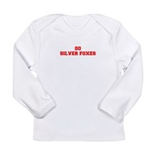 SILVER FOXES-Fre red Long Sleeve T-Shirt