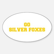 Silver Foxes-Fre yellow gold Decal