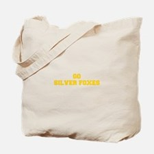 Silver Foxes-Fre yellow gold Tote Bag