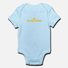 Silver Foxes-Fre yellow gold Body Suit