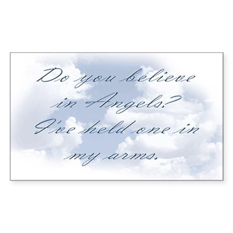 Do you believe? Sticker (Rectangle)