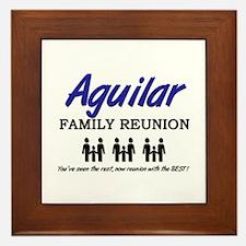 Aguilar Family Reunion Framed Tile
