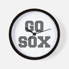 SOX-Fre gray Wall Clock