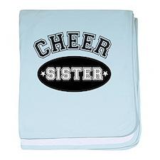 Cheer Sister baby blanket