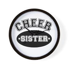Cheer Sister Wall Clock